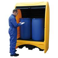Picture of Covered Drum Storage System