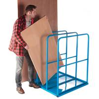 Picture of Vertical Sheet Rack with Base