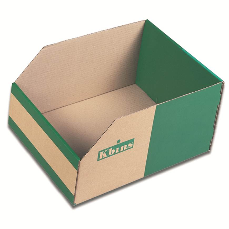 Picture of Kbins - Corrugated Cardboard Storage Bins (200mm High)