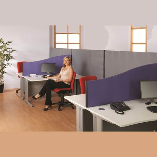 Picture of Busyscreen® Desk Screens - 1525mm High Flat
