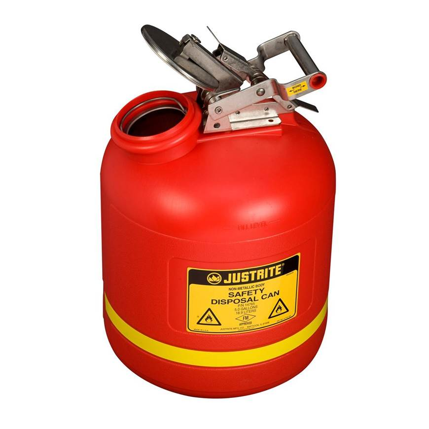 Picture of Handling Cans - Liquid Disposal Safety Cans