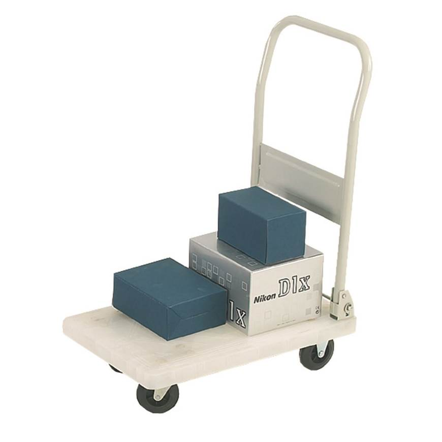 Picture of White Plastic Platform Trolleys