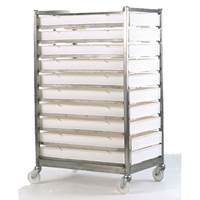 Picture of Stainless Steel Mobile Tray Rack