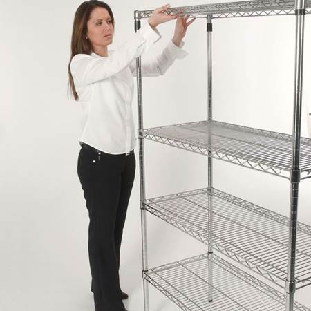 Picture for category Wire Shelving