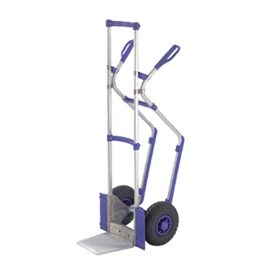 Picture of Aluminium Sack Truck with Blue Guards