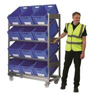 Picture of Inclined Mobile Shelving