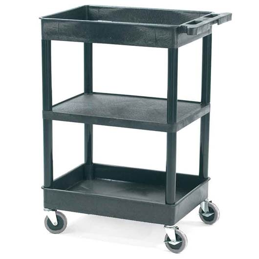 Picture of Plastic 3-Tier Multi-Purpose Trolleys
