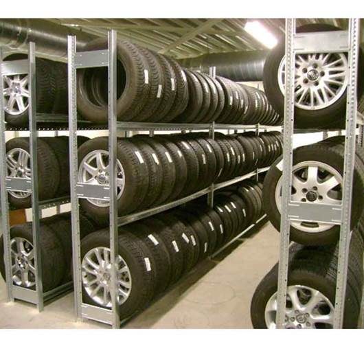 Picture of Silverline Tyre Storage Shelving