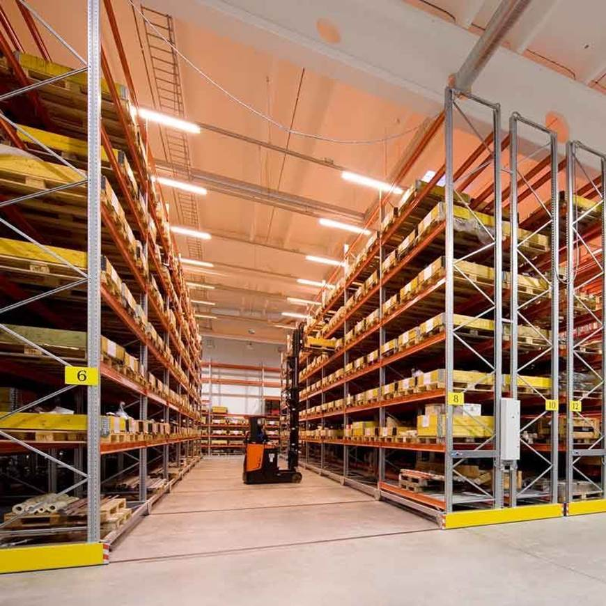Picture of Stronglock Movo - Electronic Heavy Duty Mobile Pallet Racking