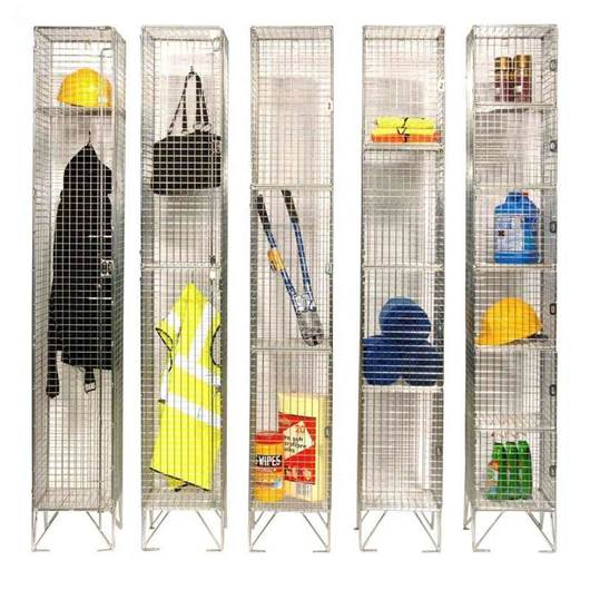 Picture of Wire Mesh Lockers