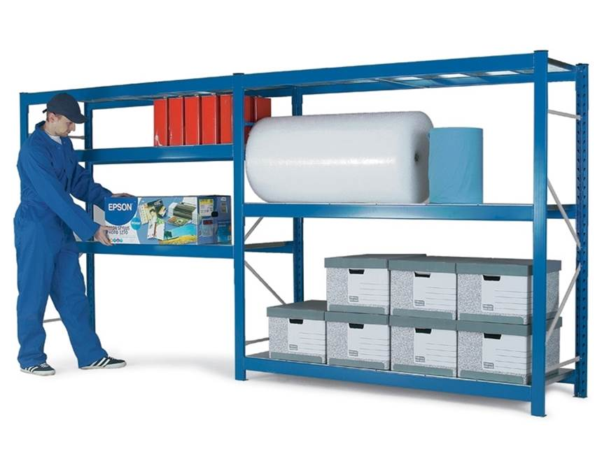Picture of PSS Shelfplan Shelving - 2100mm High Extension Bay