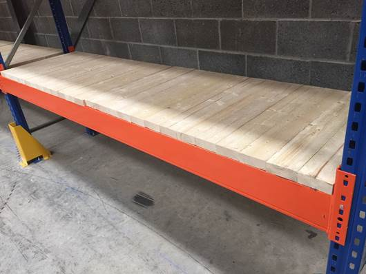 Picture of Timber Decking for Pallet Racking - Closed Boarded