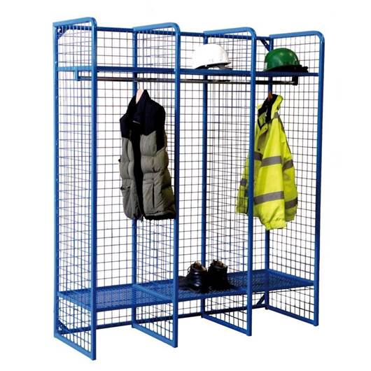 Picture of Wire Mesh Storage Compartments