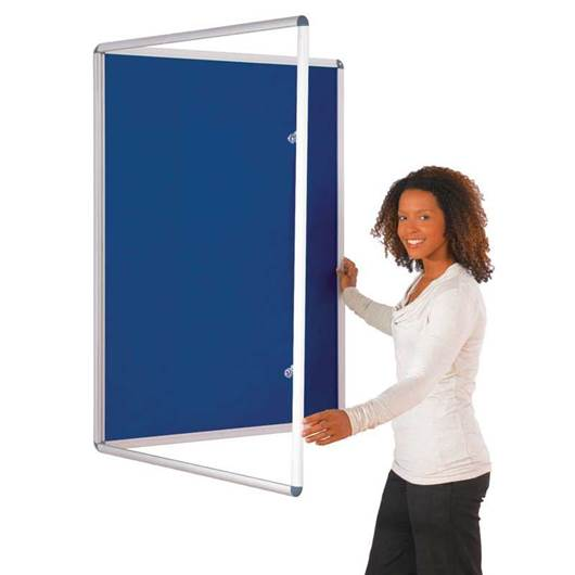 Picture of Tamperproof Single Door Felt Noticeboards