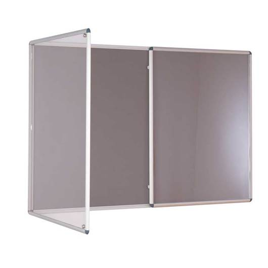 Picture of Tamperproof Double Door Felt Noticeboards