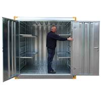 Picture of Galvanised Secure Stores
