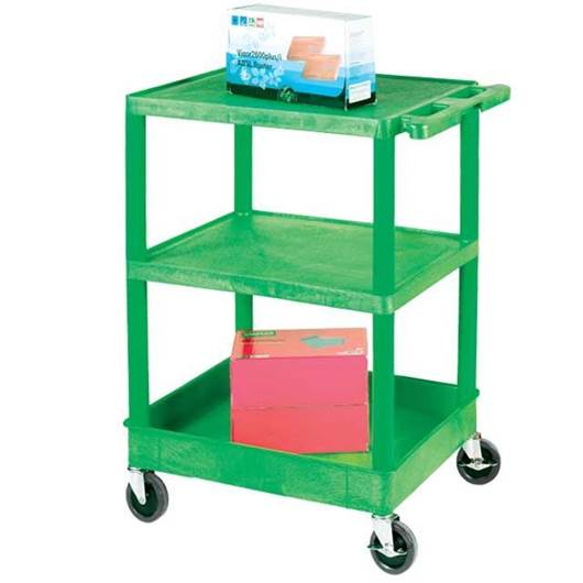 Picture of Green Super Strong Service Trolley