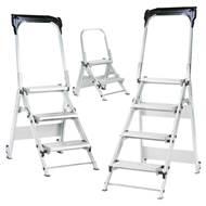 Picture of Easy Slope Aluminium Folding Leader Steps