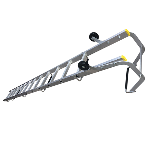 Picture of Single Section Push Up Roof Ladders